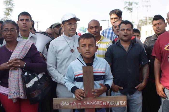 El pasado el 24 de marzo iniciaron una caravana en la frontera de México y Guatemala. Foto: Francisco Cañedo Cruz