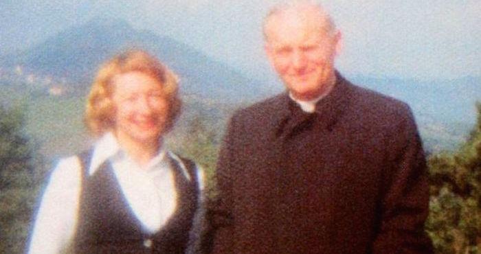 Anna-Teresa Tymieniecka y Karol Wojtyla. Fotografía proporcionada por Bill and Jadwiga Smith a la BBC.