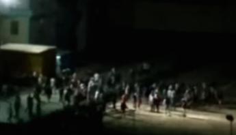 Imágenes captadas por vecinos del penal de Monterrey. Foto; Captura de pantalla