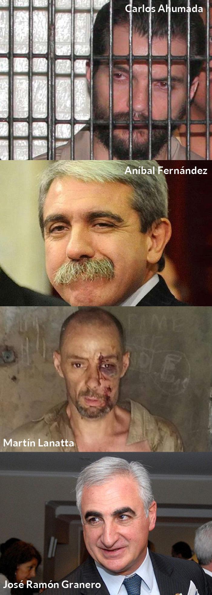 Otra vez, políticos, criminales y corrupción en un mismo costal. Fotos de Cuartoscuro, archivo y tomadas de videos