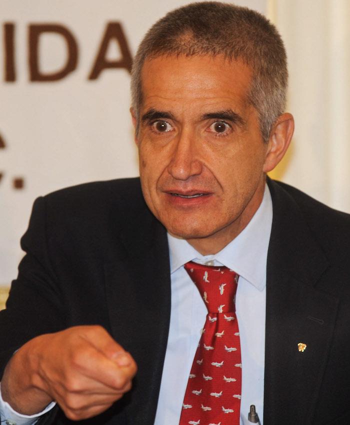 Jorge Serrano, director de Provida, detenido hoy por la PGR. Foto: Cuartoscuro