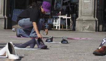 Manifestación en Cuernavaca por aumento de feminicidios Foto: Cuartoscuro