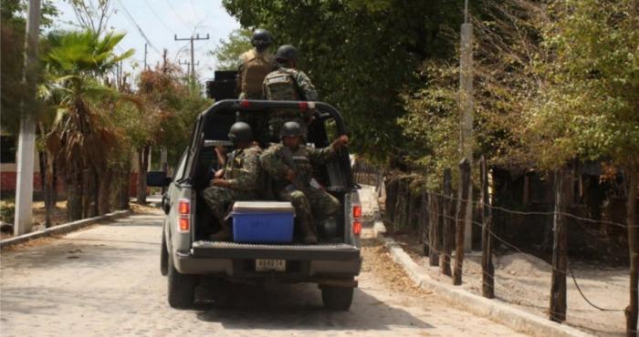 La inseguridad en la zona de San Ignacio requiere la presencia constante de las fuerzas estatales o federales. Foto: Noroeste