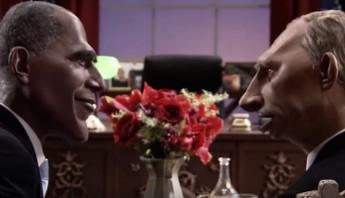 Canal + hace parodia sobra Obama y Putin. Foto: Especial