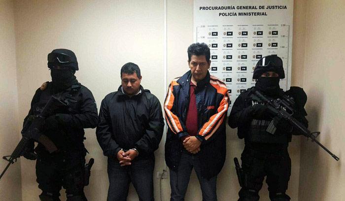 El 17 de enero, la Fiscalía General del Estado de Veracruz detuvo a Marcos Conde Hernández, Delegado de la Secretaría de Seguridad Pública en Tierra Blanca, y a Otoniel Cruz Linares, policía de esa corporación. Foto: Cuartoscuro