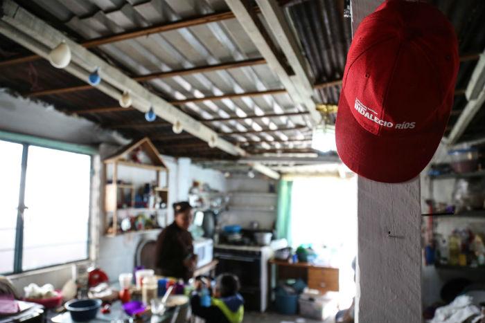 En La Cuesta las casas no rebasan los 60 metros cuadrados. Foto: Francisco Cañedo, SinEmbargoMx.