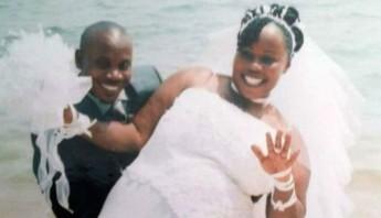 Noela Rukundo y su esposo, Balenga Kalala. Foto: Especial