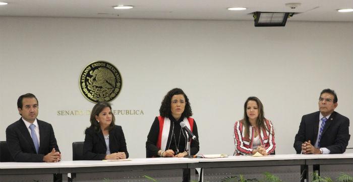 Senadores del PAN pidieron ayer a la PGR que expliqué sus acciones en contra de ex gobernadores de Tamaulipas, acusados de ligas con el crimen organizado. Foto: Luis barrón, SinEmbargo