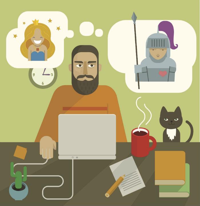 ¿Qué libro te hubiera gustado escribir?, fue una de las preguntas. Foto: Shutterstock