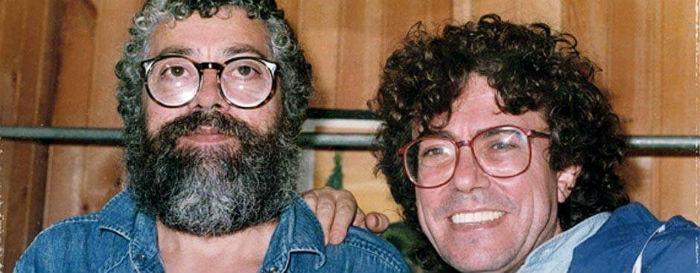 Aquí con su compatriota y colega, Piero. Foto: Facebook