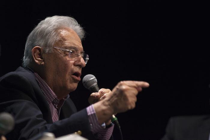 El ex Presidente de Brasil Fernando Henrique Cardoso. Foto: EFE