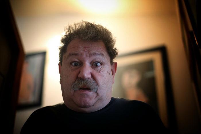 """""""Somos básicamente unos provocadores"""", dice el escritor. Foto: Francisco Cañedo, SinEmbargo"""