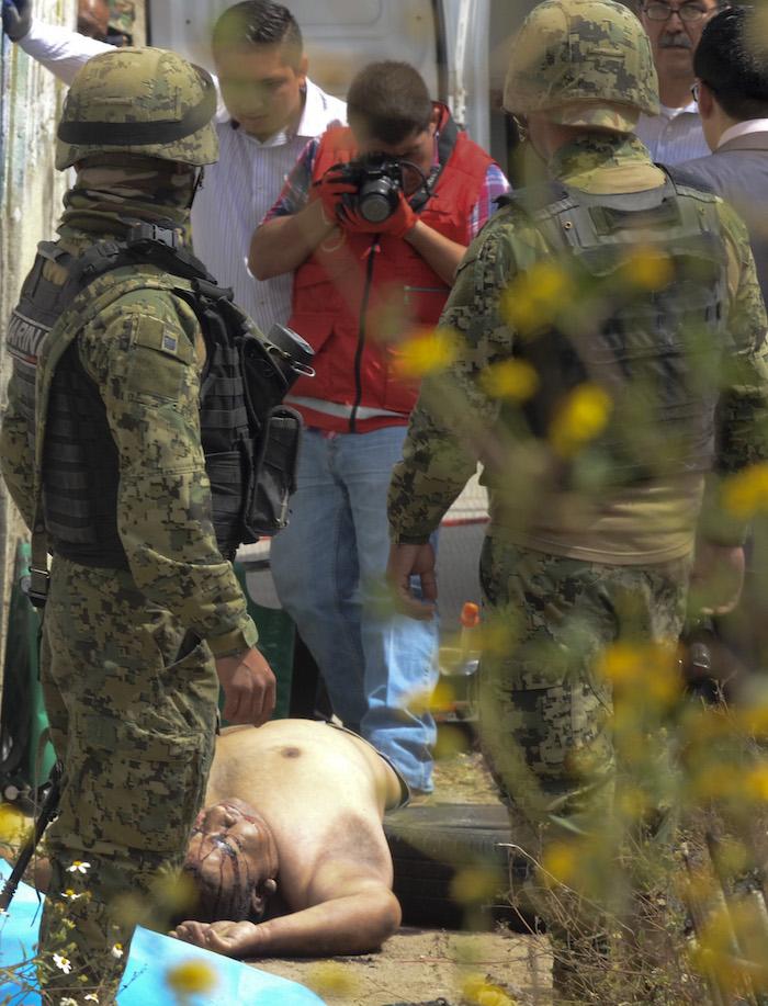 Un hombre fue asesinado a balazos en la calle de bulevar de Río de los Remedios y el Circuito Mexiquense. Foto: Cuartoscuro