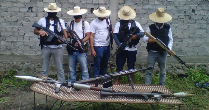 En julio de 2015, integrantes de Blancos de Troya anunciaron en redes sociales el surgimiento del grupo criminal. Foto: Cuartoscuro