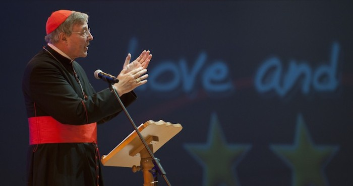 Cardenal Pell. Foto: flickr/ Catholic Church.