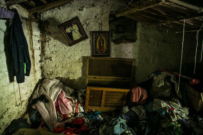En el caso de los desplazados por la violencia, las víctimas sólo llevan consigo su vida. Foto: Cuartoscuro