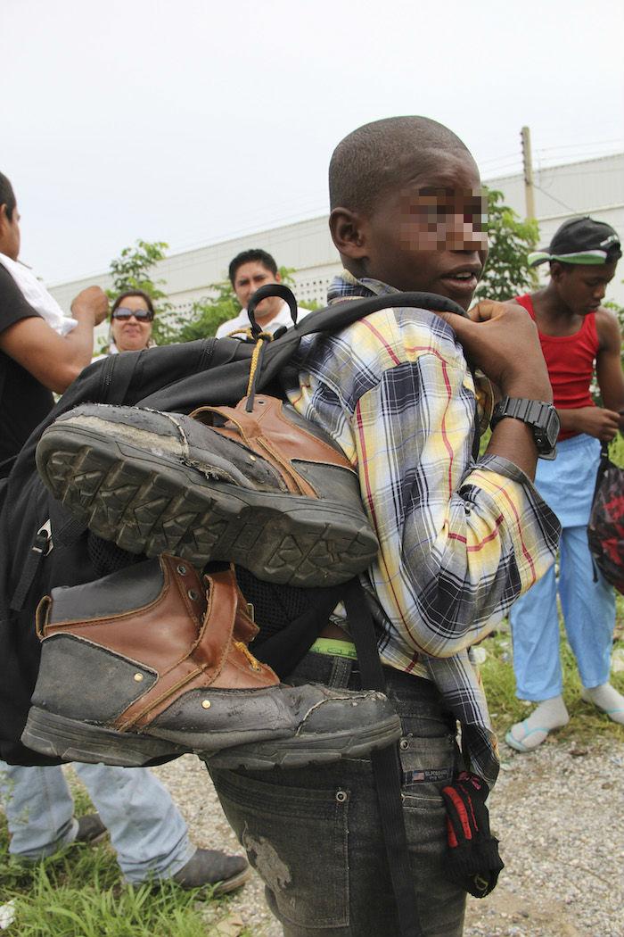 Para los niños que simplemente tratan de escapar de un peligro inminente, México puede ofrecer un refugio. Foto: Cuartoscuro.