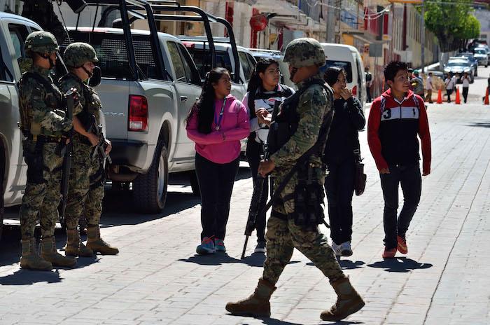 Cienfuegos dijo que el Ejército que sigue siendo una institución bastante confiable. Foto: Cuartoscuro.