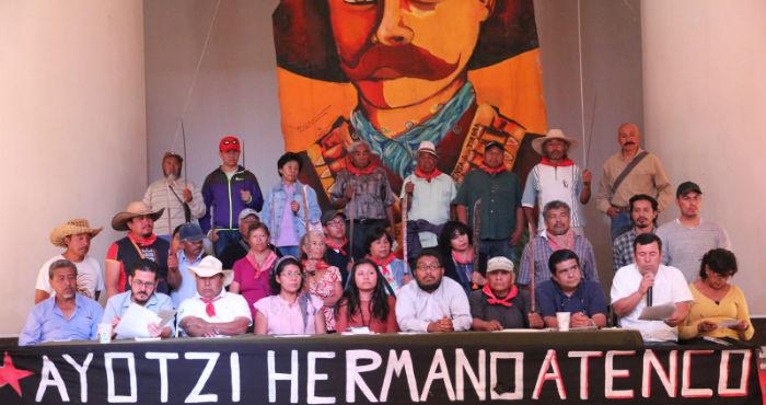"""Activistas y organizaciones civiles anunciaron un frente contra la """"Ley Eruviel"""". Foto: Luis Barrón, SinEmbargo"""