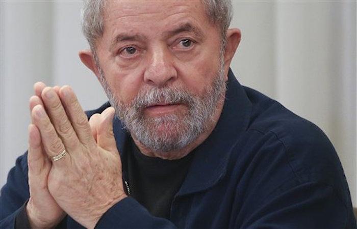 El ex Presidente de Brasil, Luiz Inacio Lula da Silva. Foto: AP