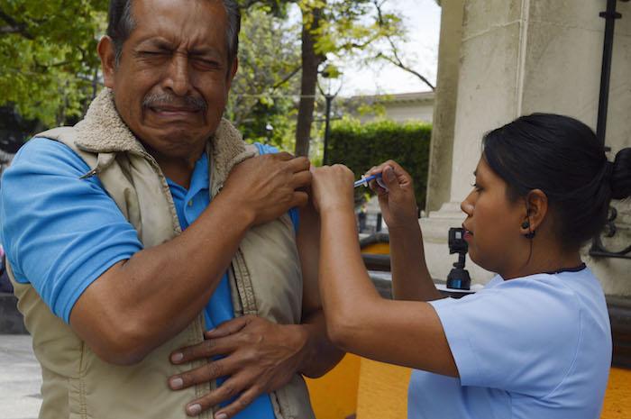 El Gobierno regaló más de 31 millones de vacunas contra la influenza. Foto: Cuartoscuro