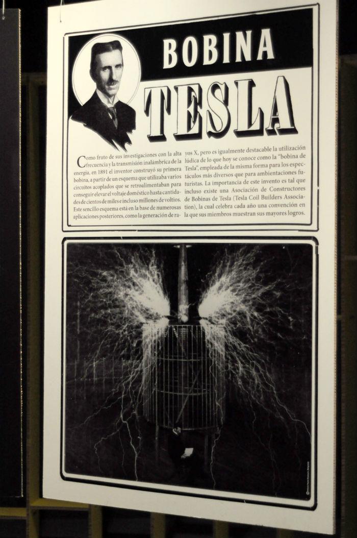 La exposición sobre Tesla en el CENART permanecerá abierta hasta junio próximo. Foto: Especial