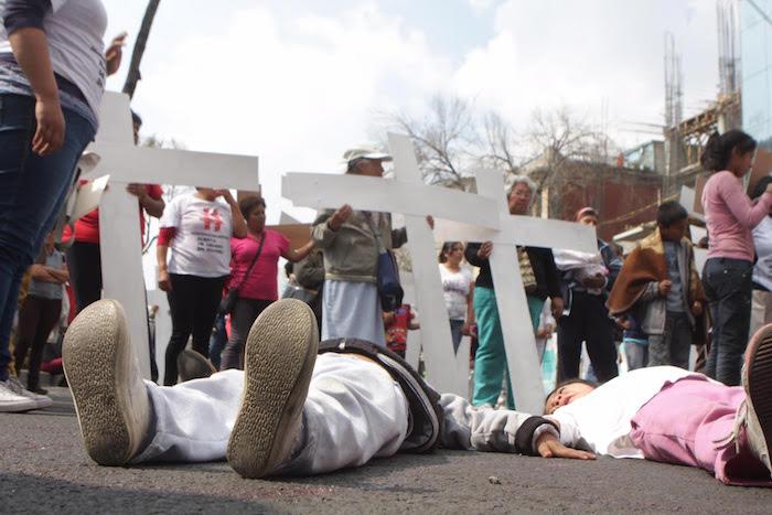 Las organizaciones denunciaron que en lo que va del año el gobierno del Edomex sólo ha reconocido a ocho mujeres como víctimas de feminicidios. Valentina López, SinEmbargo.