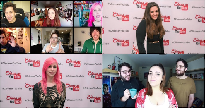 youtubers. Foto: Especial