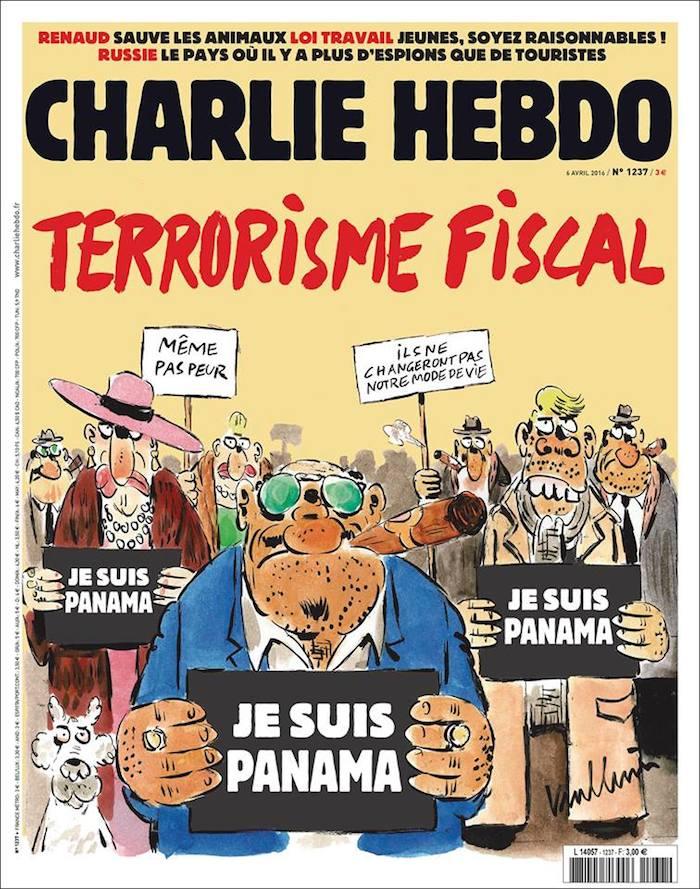 Portada Nº 1237 de la revista Charlie Hebdo. Foto: Facebook oficial