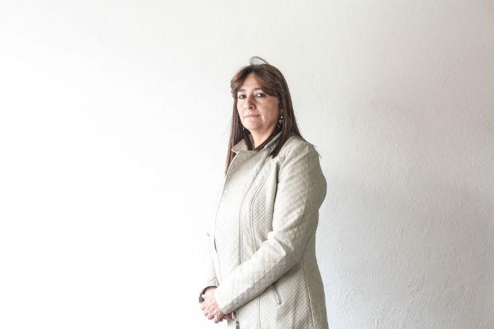 Ángela Buitrago. Foto: Francisco Cañedo, SinEmbargo