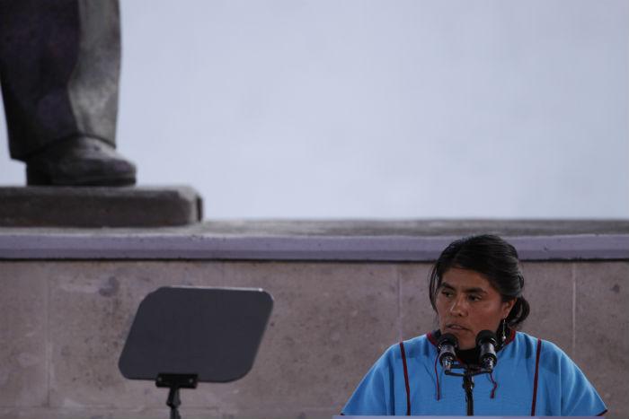 En 2010 Eufrosina Cruz se convirtió en Diputada local por el Partido Acción Nacional (PAN). Foto: Cuartoscuro