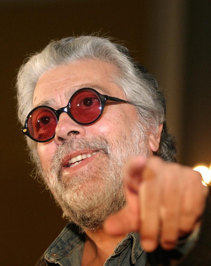El cantautor argentino Facundo Cabral. Foto: Cuartoscuro/Archivo