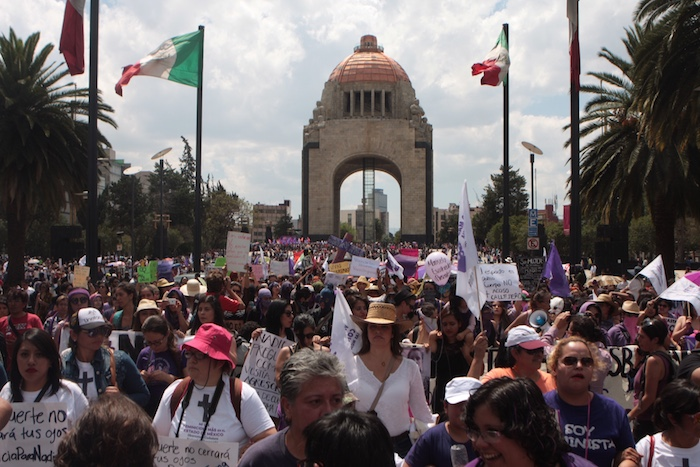 #VivasNosQueremos. Foto: Valentina López / Sin Embargo