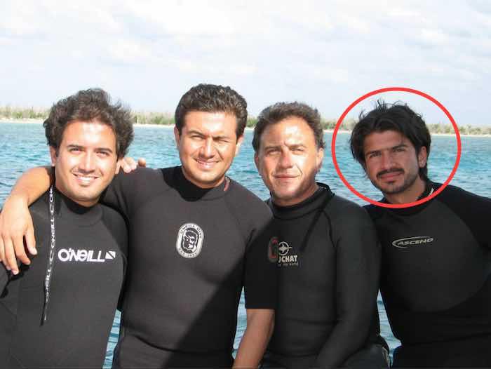Omar Yunes Márquez es hijo del Diputado federal del PAN y candidato de ese partido al gobierno de Veracruz, Miguel Ángel Yunes Linares. Foto: Facebook Miguel Ángel Yunes Linares