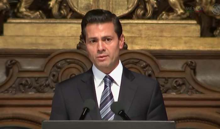 El presidente Peña Nieto regresó recientemente de una gira por la UE. Foto: Especial