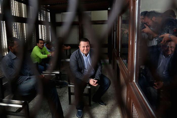 """El costarricense Alejandro Jiménez, alias """"El Palidejo"""", y los guatemaltecos Elgin Enrique Vargas Hernández, Wilfred Allan Stokes Arnold, Juan Hernández Sánchez y Audelino García Lima, fueron sentenciados por el asesinato en 2011 del cantautor argentino Facundo Cabral. Foto: EFE"""