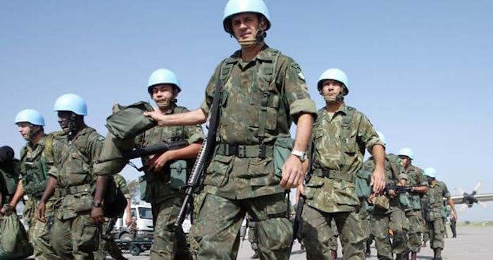 En la República Centroafricana están desplegados unos 12 mil soldados de la misión de paz internacional de la ONU. Foto: EFE