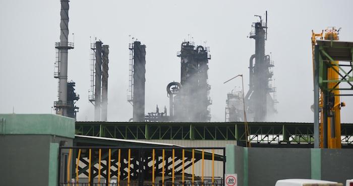 Vista del interior de la Planta Clorados III del Complejo Petroquímico Pajaritos. Foto: Cuartoscuro.