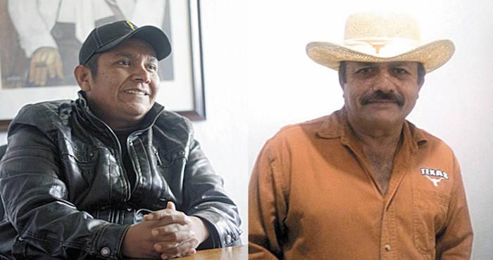 Édgar Puente Líder del Partido Joven en Coahuila, y Raúl Villarreal, Coordinador estatal del Frente Cardenista de Reconstrucción Nacional. Foto: Vanguardia