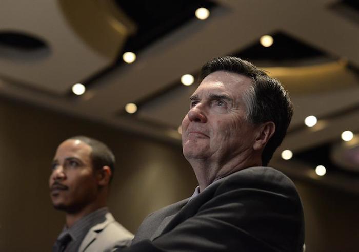 """El presidente de la Fed de Atlanta, Dennis Lockhart, señaló que junio """"podría ser desde luego un encuentro en el que se podrían tomar medidas. Foto: EFE"""