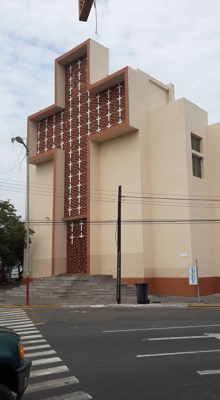 El recinto religioso en donde ocurrió el secuestro. Foto: Facebook