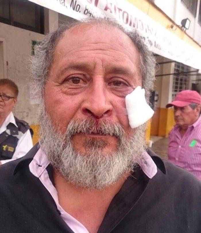 Miguel Ángel Moreno, trabajador que lleva más de 20 años laborando para la empresa. Foto: Soledad Victoria Cruz, SinEmbargo