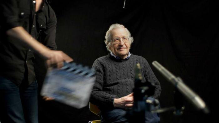 Noam Chomsky, en un documental imperdible. Foto: Netflix