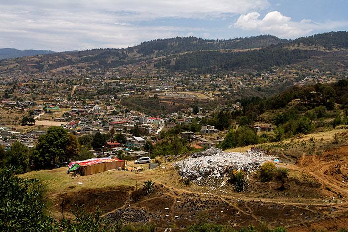 Campamento Xochicuautla. Foto: Cuartoscuro