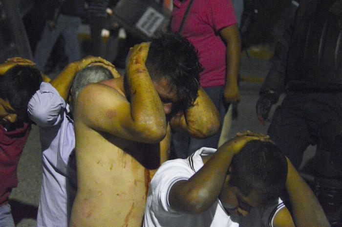 A finales de abril fueron detenidas decenas de personas que exigían que el cultivo de la planta fuera regulado en Guerrero. Foto: Cuartoscuro