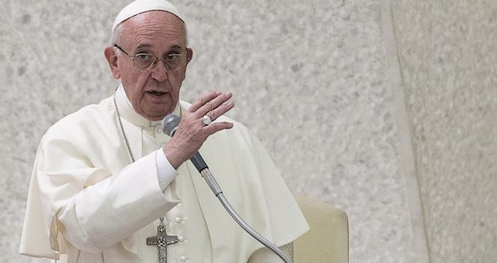 En la imagen, el Papa Francisco. Foto: EFE.