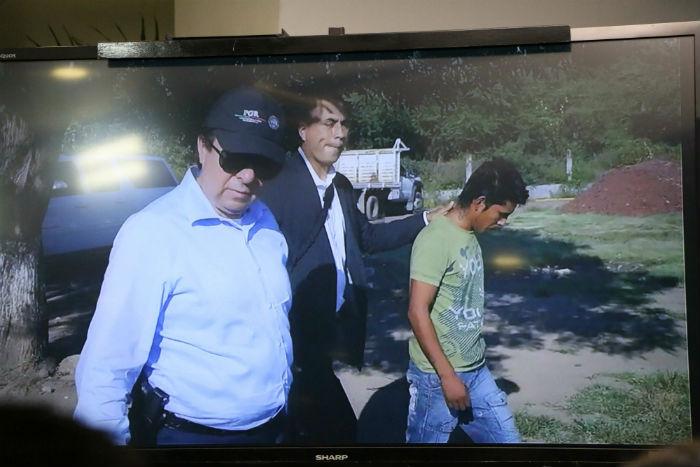El funcionario realizó una visita al basurero de Cocula un mes después de la desaparición de los normalistas. Foto: Cuartoscuro