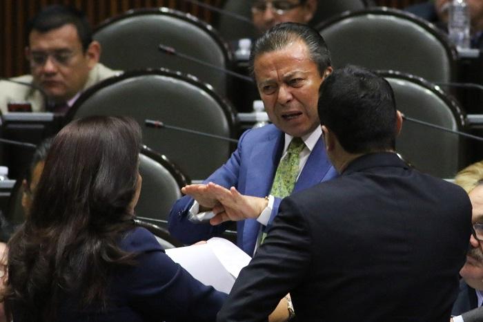 Cesar Camacho Quiroz anunció la dictaminación conjunta de las leyes que se aprueben en la Cámara Baja. Foto: Cuartoscuro