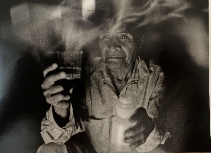 Chaba'ajom con incensario. Foto: Lorenzo Armendáriz/Artes de México