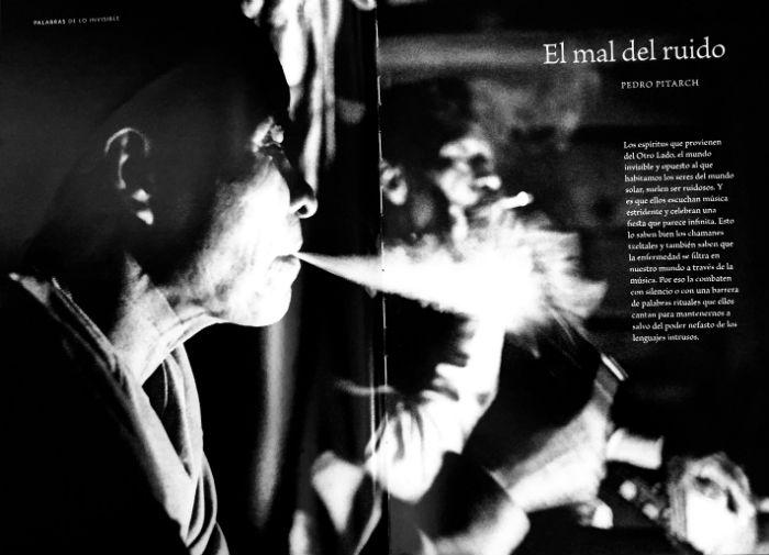 Chamán silenciador. Foto: Lorenzo Armendáriz/Artes de México